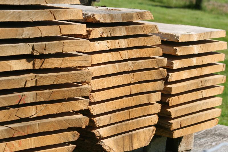 plot de bois massif