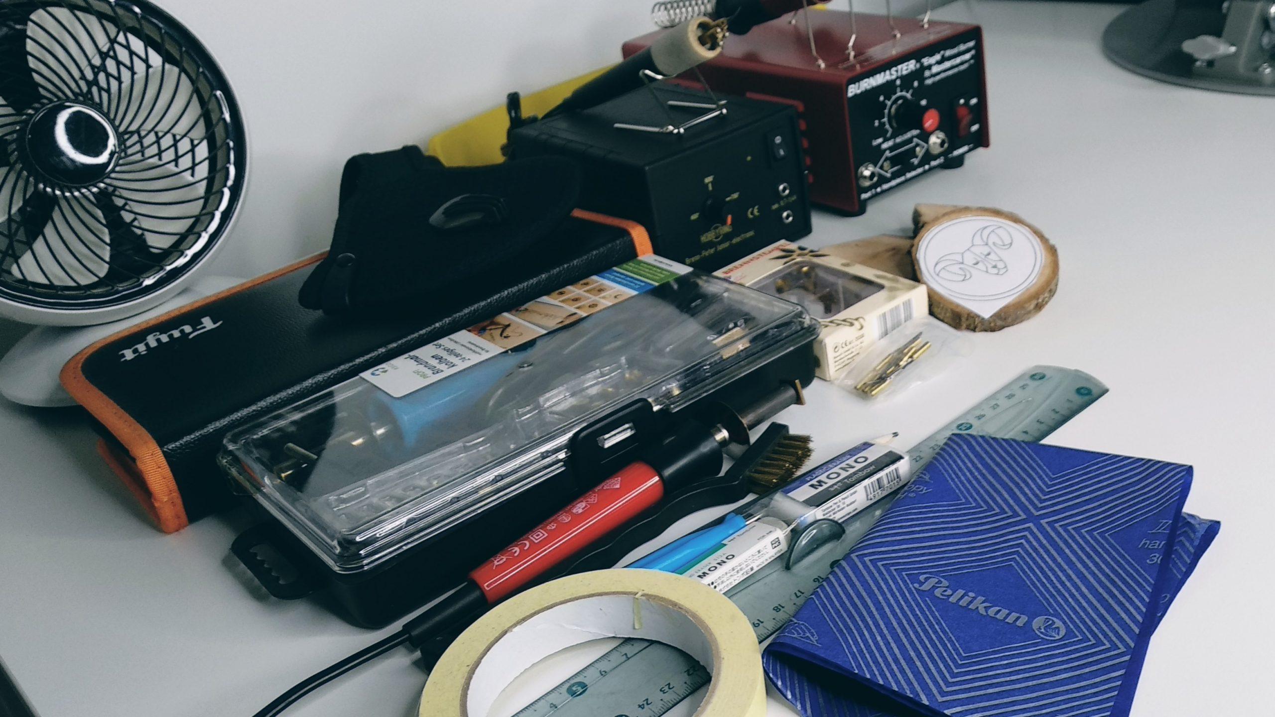 Mes outils essentiels pour la pyrogravure